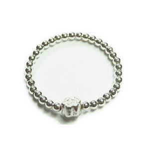 2mm Sterling Silver Rose Ring