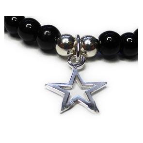 JoJo Bracelet with Outline Star Charm Closeup
