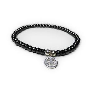 JoJo Bracelet with Peace Charm