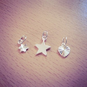 Little Wishes Sterling Silver Charms