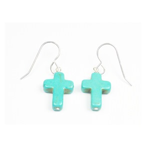 Turquoise Cross Wires