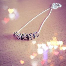 Little Letters Sterling Silver Personalised Necklace