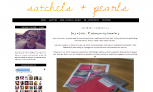 Blog Post by Satchels & Pearls featuring Jacy & Jools