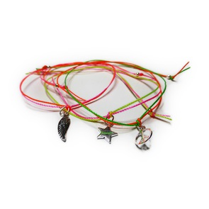 Sterling Silver Neon Charms Cords