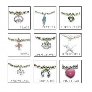 Other Charm Choices for the Mixed Ball Sterling Silver Bracelet