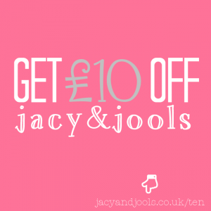 Get £10 Off at Jacy & Jools Jewellery , Cheshire