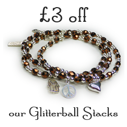 £3 Off Our Glitterball Stacks with 50 Treats To Christmas by Jacy & Jools