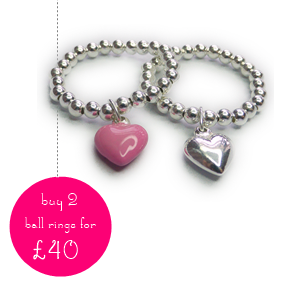 Sterling Silver Ring Offer with Jacy & jools 50 Treats to Christmas