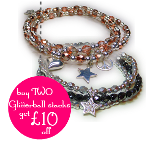 £10 Off When You Buy Two Glitterball Stacks from Jacy & Jolls