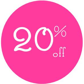 20% off at Jacy & Jools with 50 Treats To Christmas