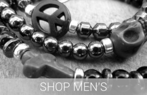 Carbon Mens Jewellery Collection by Jacy & Jools