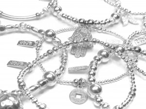 Jacy & Jools Cinta Collection of Stackable Sterling Silver Jewellery