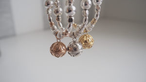 Sterling Silver Dreamball Bracelet from The Cinta Collection