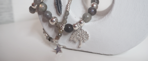 Labradorite and Sterling Silver Moonstorm Collection by Jacy & Jools