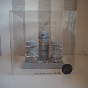 Jacy & Jools Jewellery Display Cube