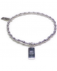 Sterling Silver Mixed Ball Bracelet with BFF Charm