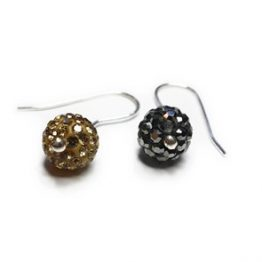 Pavé Drop Earrings