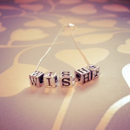 Little Letters WishNecklace