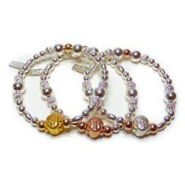 Chunky Buddha Bead Ball Bracelets
